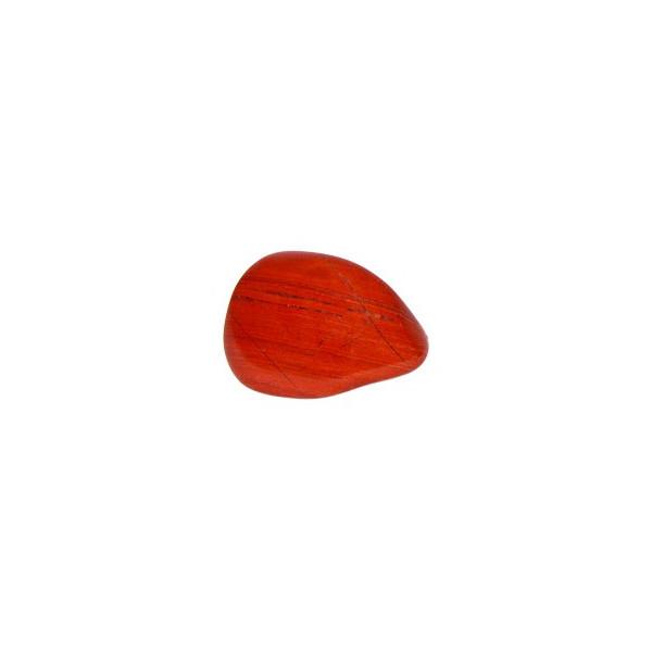 Ciottolo di diaspro rosso (50-70g)
