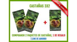 OFERTA-Castañas 3x2