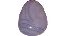 Calcedonia azul para colgar (perita)