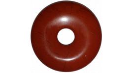 Donut de Jaspe rojo (4cm)